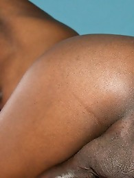 Hot black tgirl with a big cock!